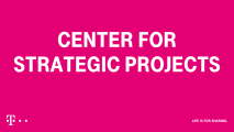 Deutsche Telekom Center for Strategic Project